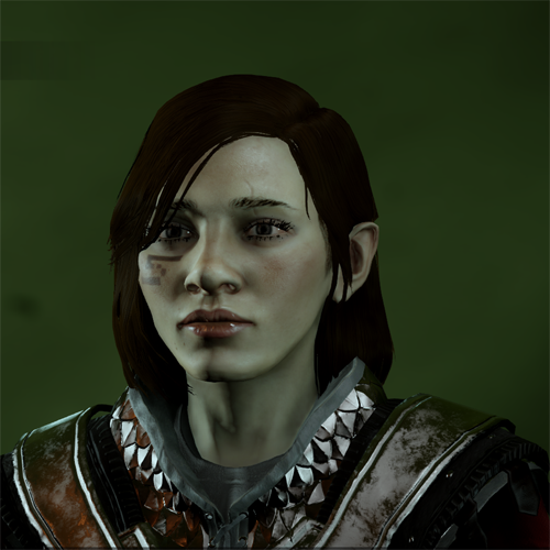 Dwarf Female in Character Creation