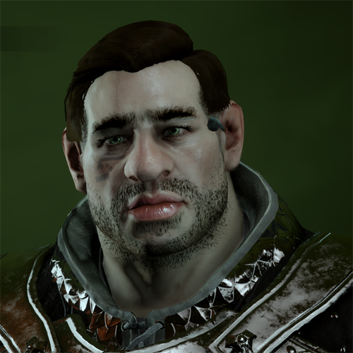 Dwarf Male in Character Creator