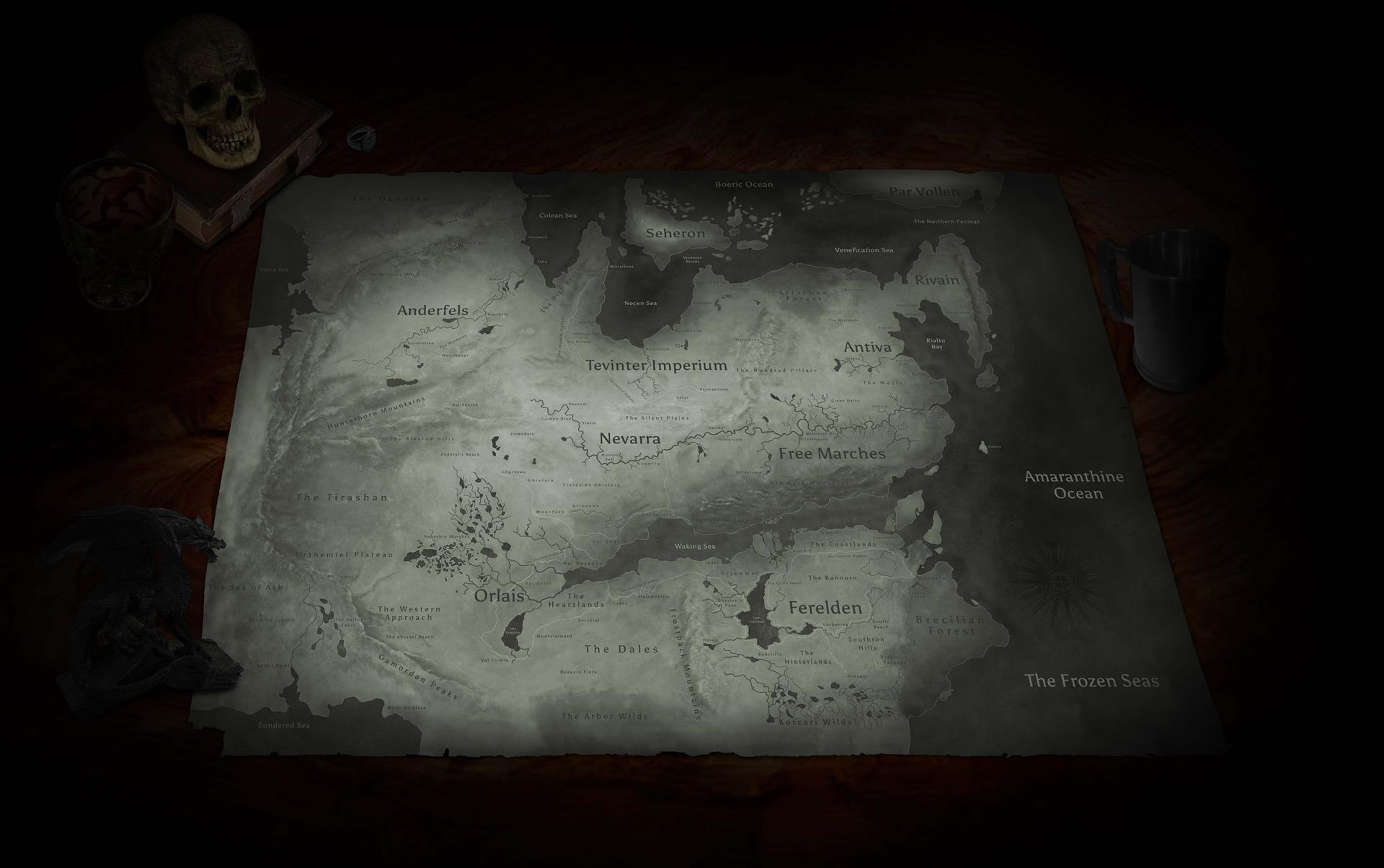 Maps | Dragon Age Inquisition Wiki
