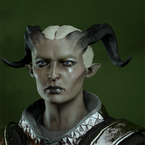 Qunari Female in CC