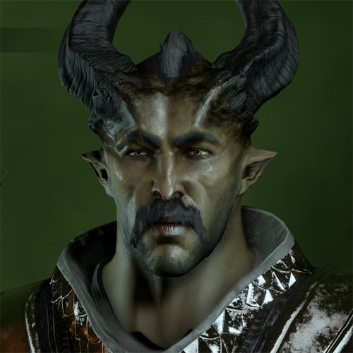 Qunari Male in CC