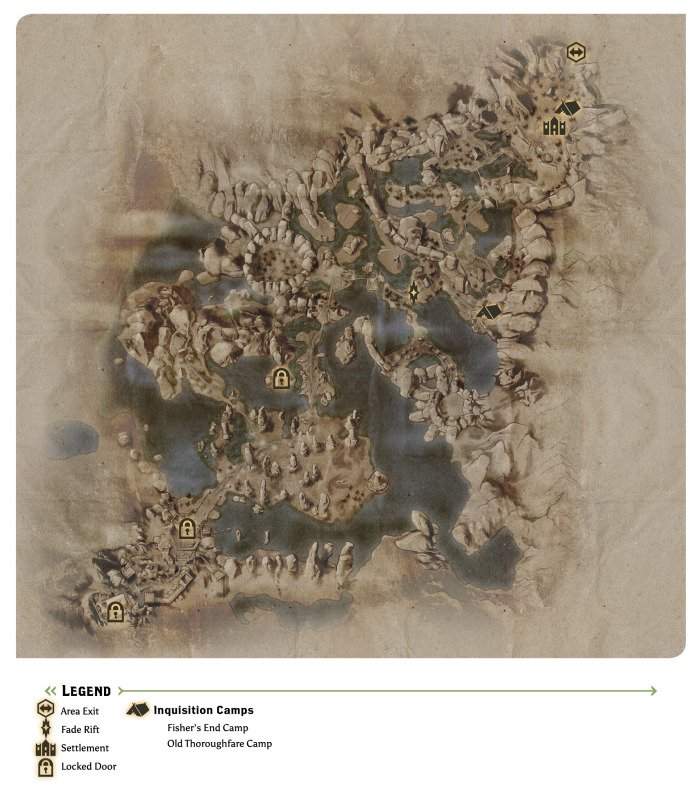 The Fallow Mire Map
