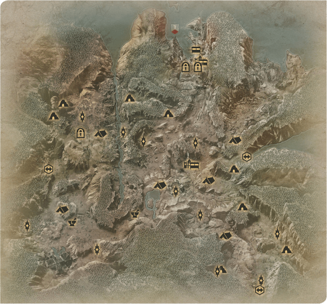 The Hinterlands Map